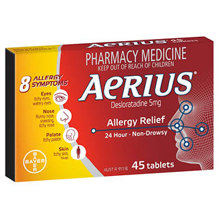 Thumbnail for Aerius Tablets 5mg x 45 tabs