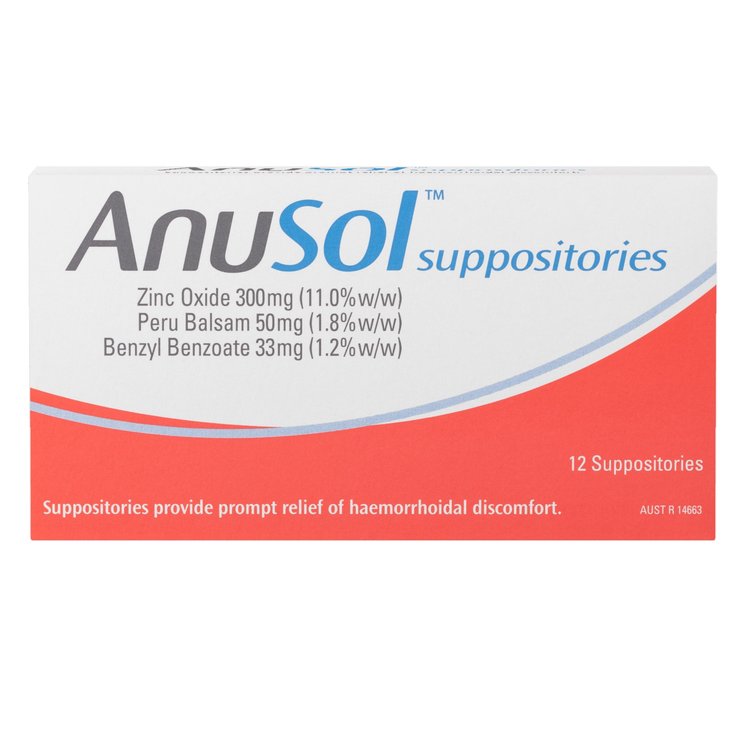 Thumbnail for Anusol Suppositories 12