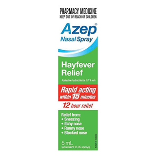 Thumbnail for Azep Hayfever Relief  Nasal Spray 5mL