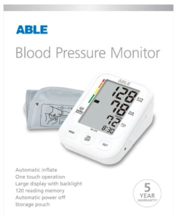 Thumbnail for  ABLE Blood Pressure Monitor