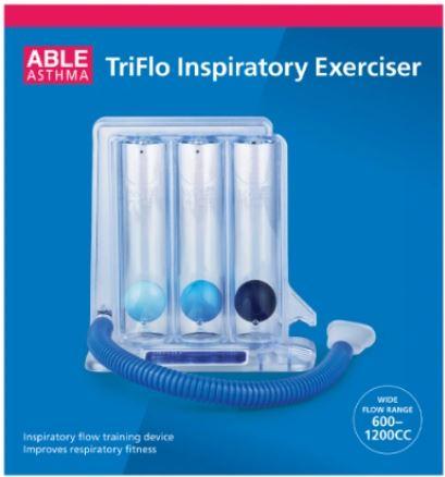 Thumbnail for Able TriFlo Inspiratory Exerciser