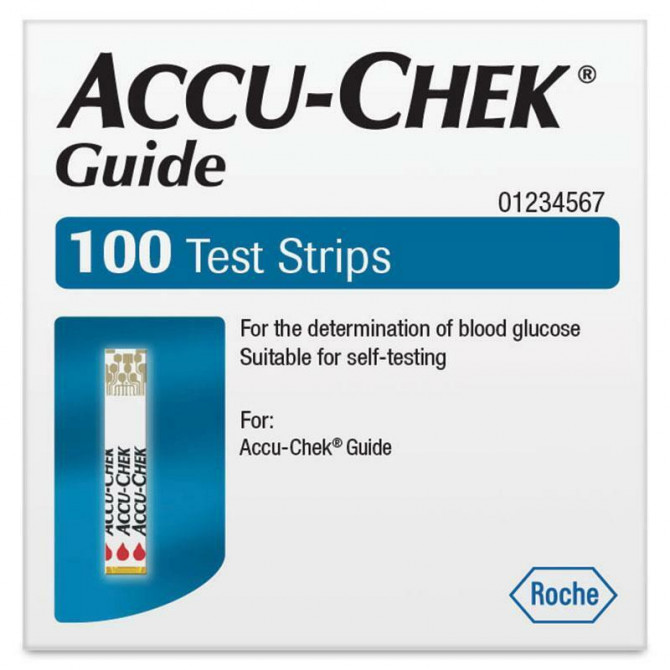 Image 1 for Accu-Check Guide Test strips