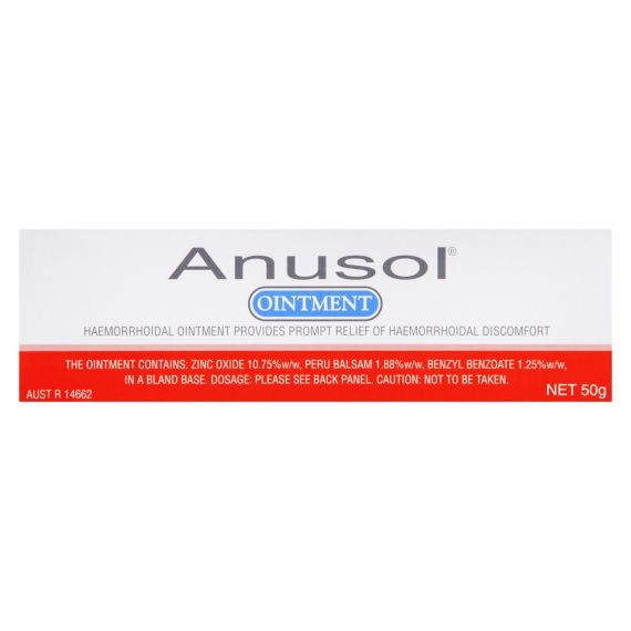 Image 1 for Anusol ointment 50g