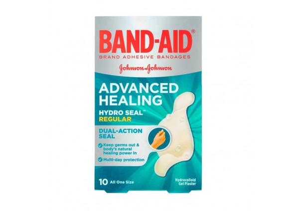 Thumbnail for Band-aid Advanced Healing Strips Regular 10