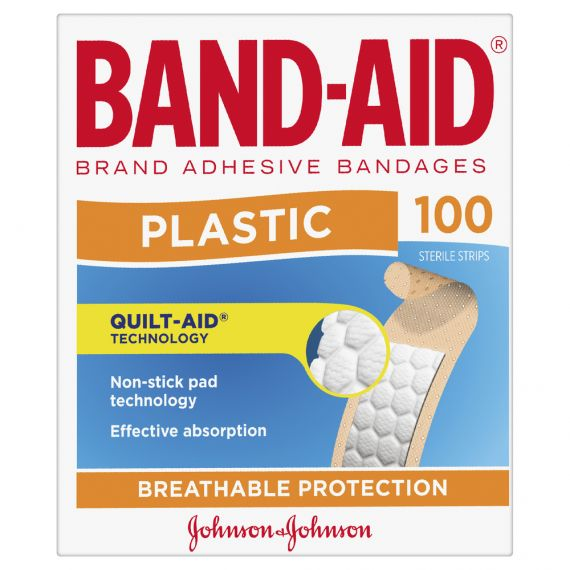 Thumbnail for Band-Aid Plastic Strips 100