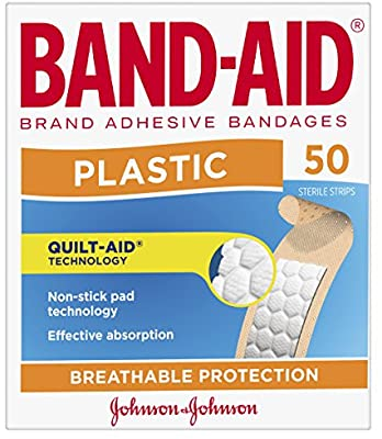 Thumbnail for Band-Aid Plastic Strips 50