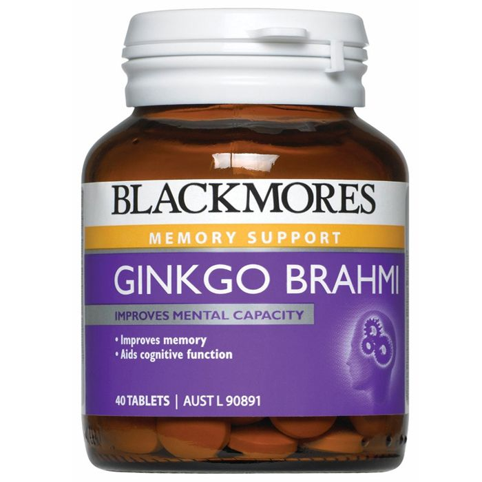 Thumbnail for Blackmores Ginko Brahmi Tablets x 40