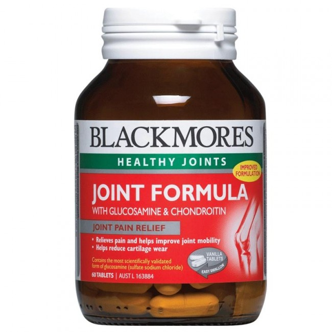 Image 1 for Blackmores Joint Formula With Glucosamine & Chondroitin Tablets x 60