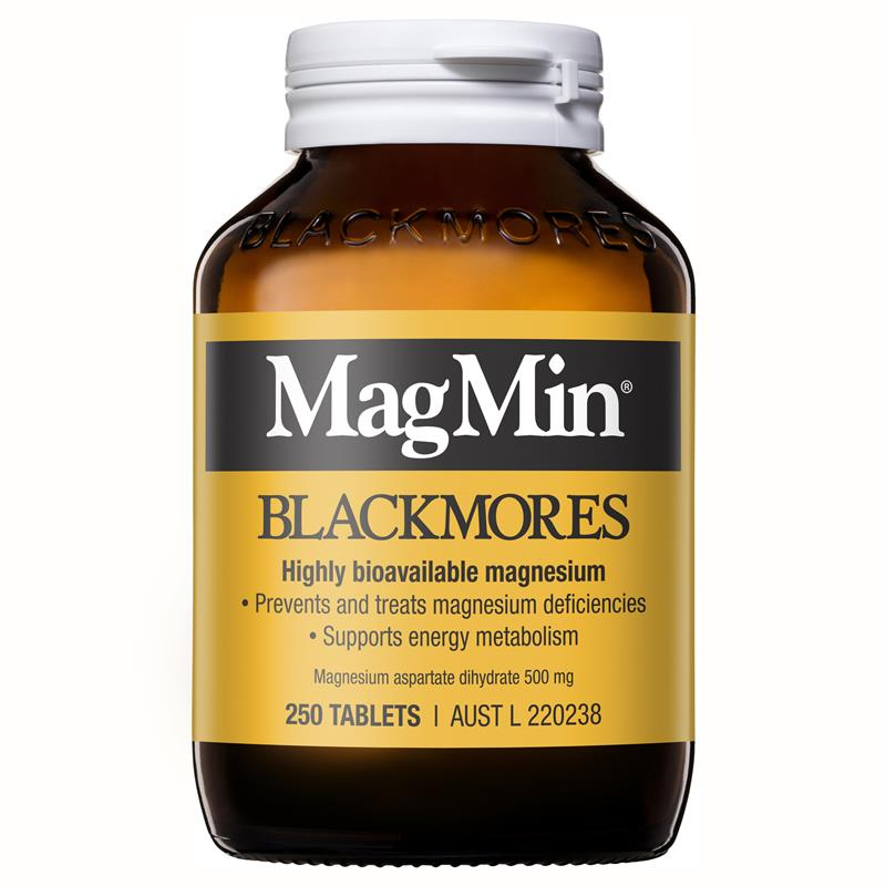 Image 1 for Blackmores MagMin Magnesium Tablets x  100