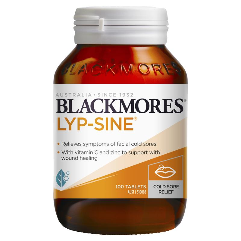 Image 1 for Blackmores Lyp-Sine Tablets x 30