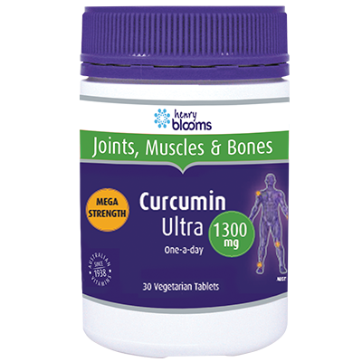 Thumbnail for Henry Blooms Curcumin Ultra 1300mg Tablets x 30