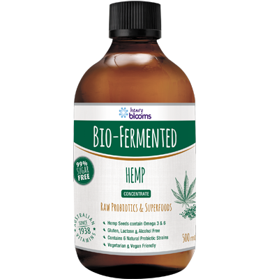 Thumbnail for Henry Blooms Bio-Fermented Hemp 500mL