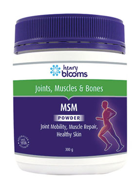 Thumbnail for Henry Blooms MSM Powder 300g