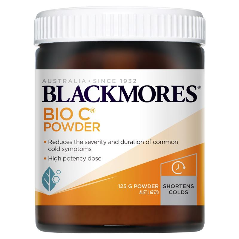 Image 1 for Blackmores Bio C Powder 125g