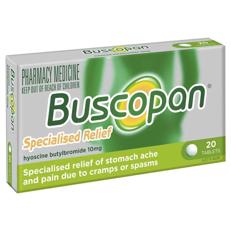 Thumbnail for Buscopan  Tablets  20