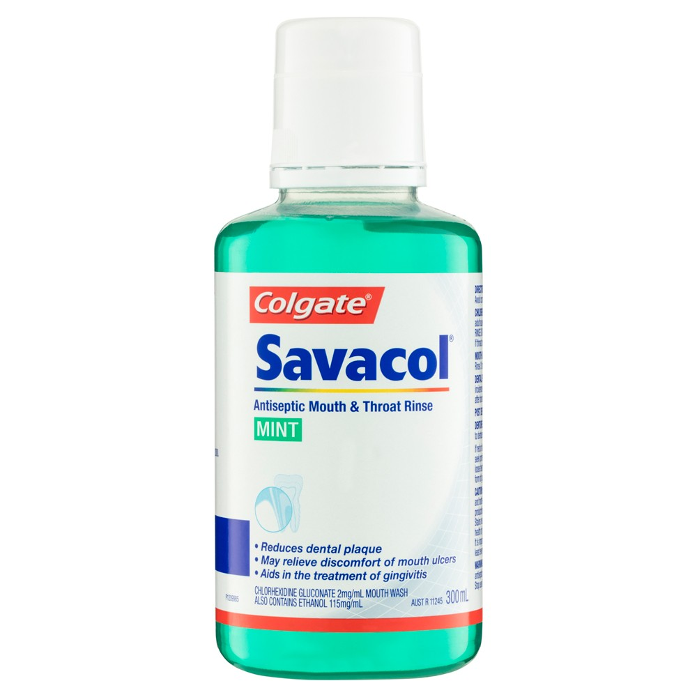 Thumbnail for Colgate Savacol Alcohol Free Mouth Free 300mL