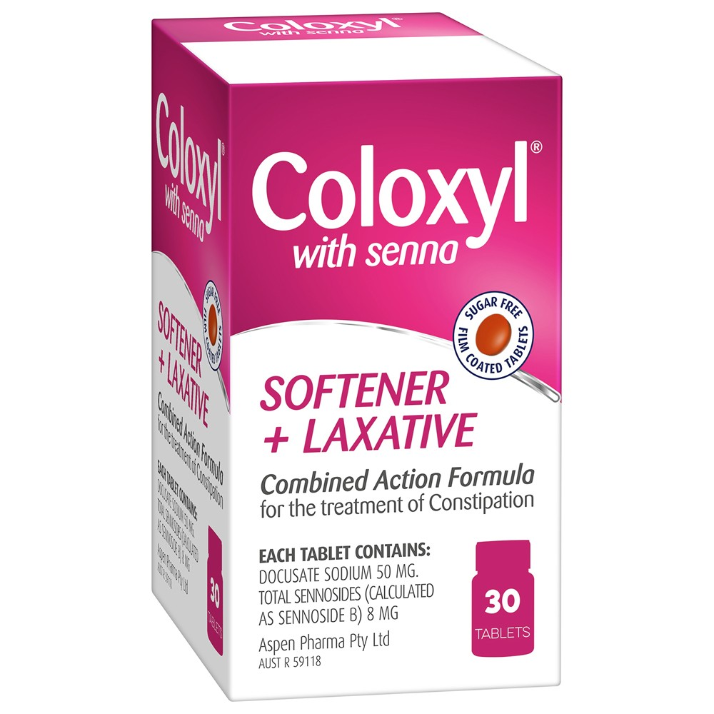 Thumbnail for Coloxyl with Senna  Tablets 30