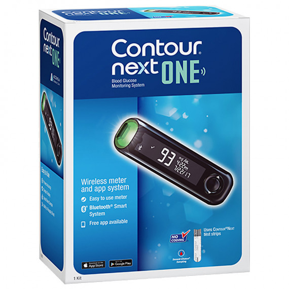 Thumbnail for Contour Next One Blood Glucose Monitor