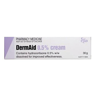 Thumbnail for DermAid 0.5%  Cream 30g