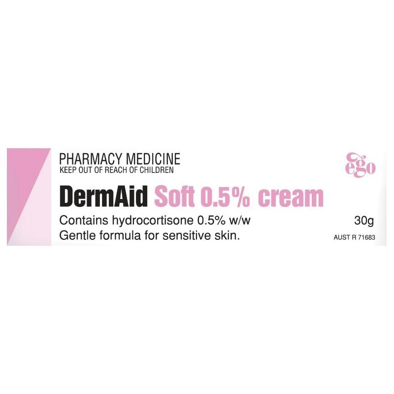 Thumbnail for DermAid Soft 0.5%  Cream 30g
