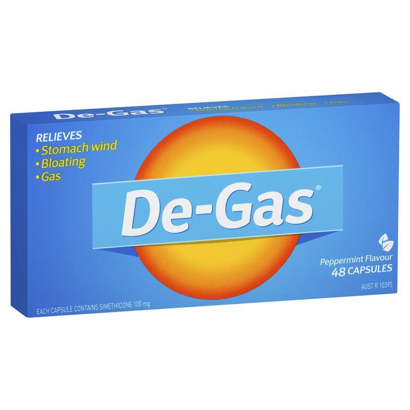 Image 1 for De Gas Capsules x 48