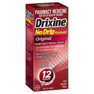 Thumbnail for Drixine Nasal Spray 15mL