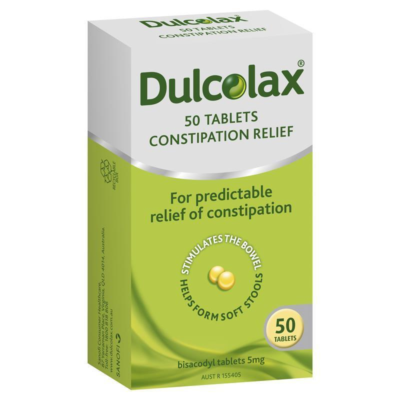 Image 1 for Dulcolax 5mg  Tablets 50
