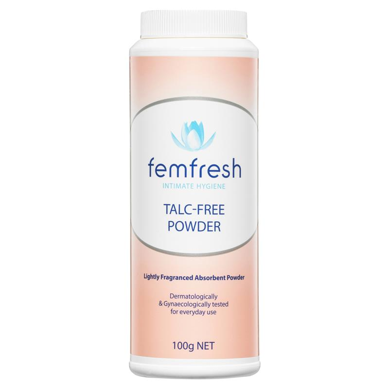 Image 1 for FemFresh Talc Free Powder 100g