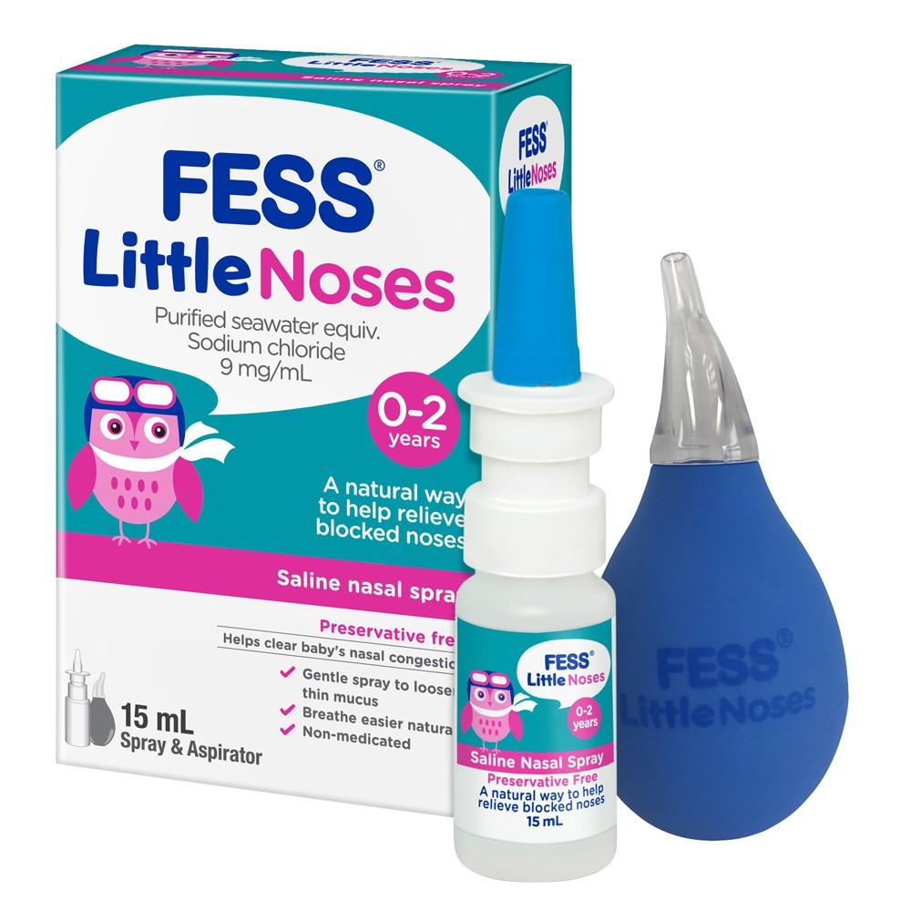 Image 1 for Fess Little Noses Saline Nasal Spray 15mL