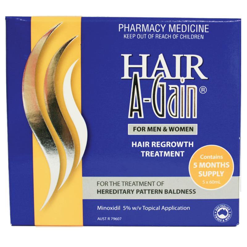 Thumbnail for Hair A-Gain 60mL x  5 months bonus Pack