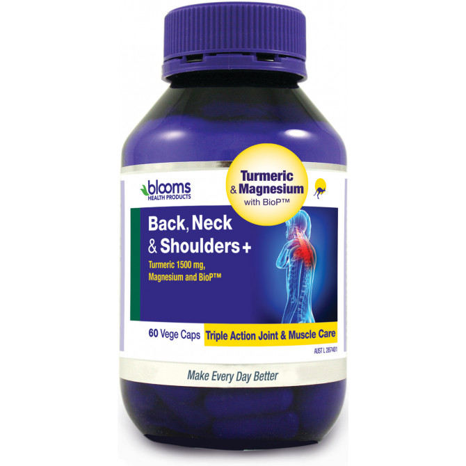 Thumbnail for Henry Blooms Back, Neck & Shoulders + Capsules x 60
