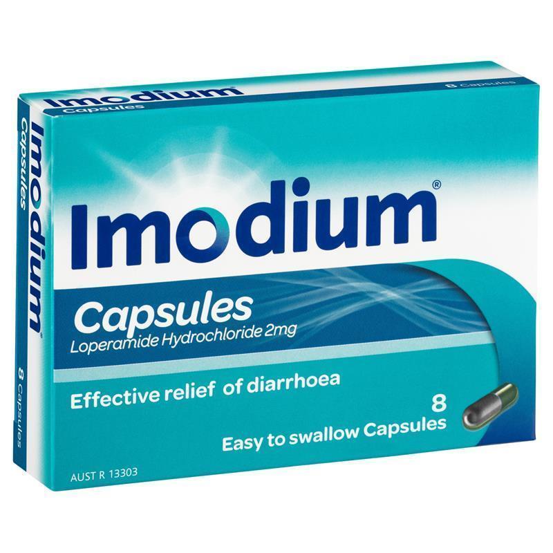 Image 1 for Imodium 2mg 8 Capsules