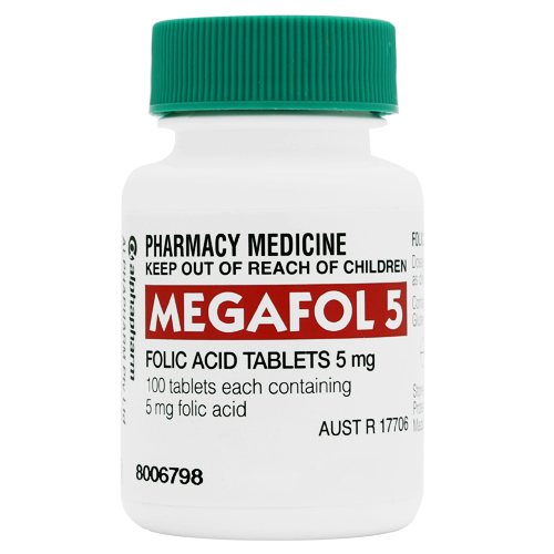 Image 1 for Megafol Tablets 5mg 100