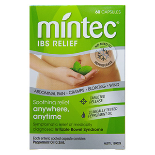 Thumbnail for Mintec Capsules 60 (peppermint oil)