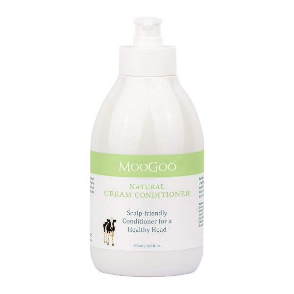 Image 1 for MooGoo Natural Cream Conditioner 500mL