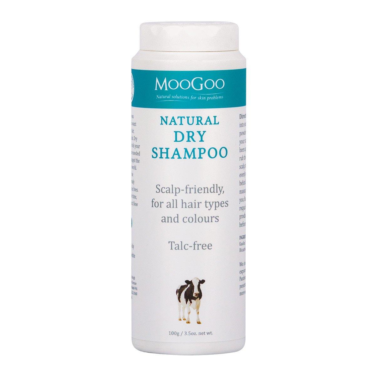 Thumbnail for MooGoo Natural Dry Shampoo 100g Powder