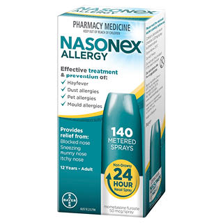 Thumbnail for Nasonex Allergy Spray 140 sprays