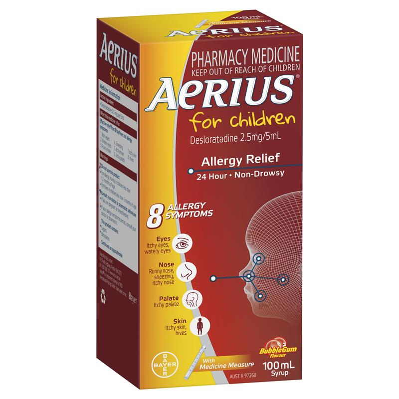 Image 1 for Aerius Syrup 100mL