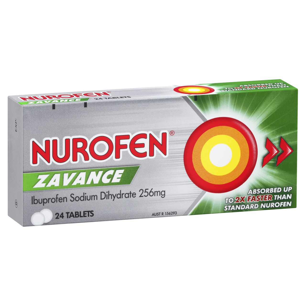 Image 1 for Nurofen 200mg Zavance Tablets x 24