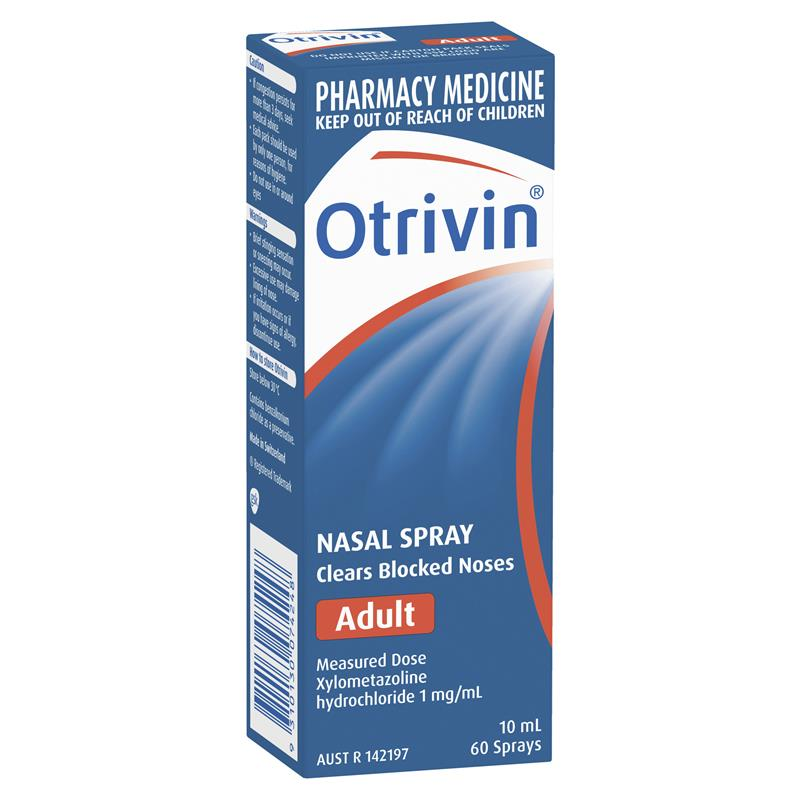 Image 1 for Otrivin Adult Measured Dose Nasal Mist 10mL