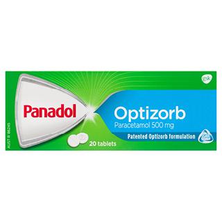 Thumbnail for Panadol Optizorb Tablets x 20