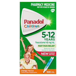 Image 1 for Panadol Children 5-12 Years Colourfree Orange Flavour 100mL