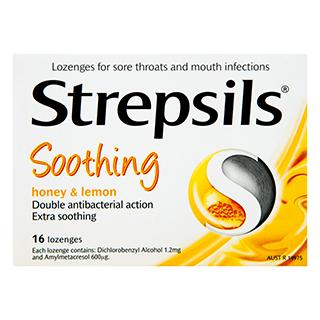Image 1 for Strepsils Honey & Lemon 16 Lozenges