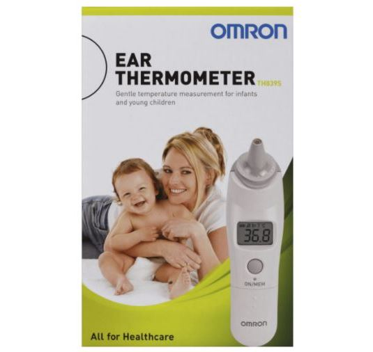 Thumbnail for Omron Ear Thermometer