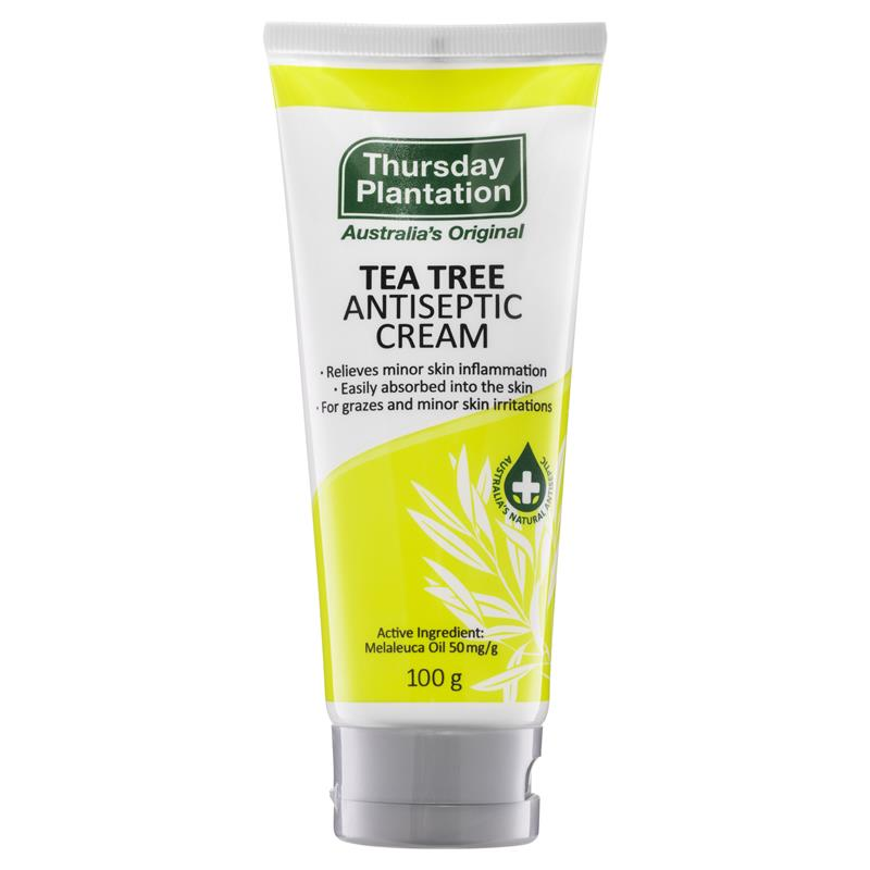 Thumbnail for Thursday Plantation Tea Tree Antiseptic Cream 100g