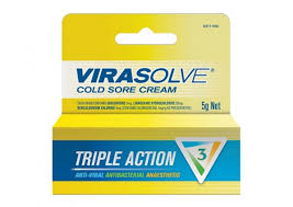 Thumbnail for Virasolve Cold Sore Cream 5g