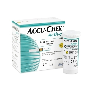 Image 1 for Accu-Chek Test Strips Active 50 x 2
