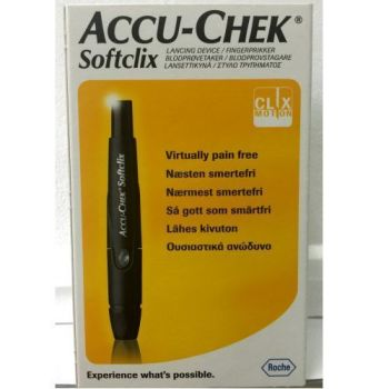 Thumbnail for Accu-Chek Softclix  Lancing Device + 25 Lancets