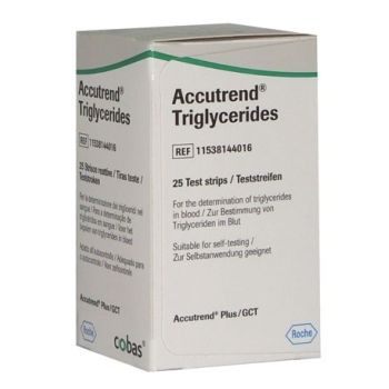 Thumbnail for Accutrend Plus Triglycerides  Strips 25