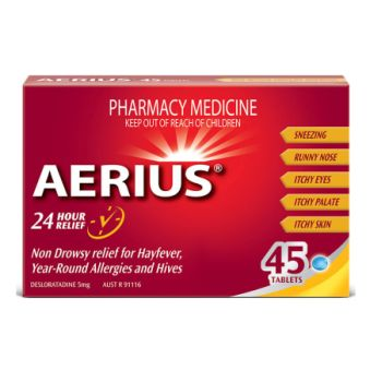 Thumbnail for Aerius Tablets 5mg x 45